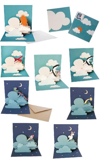 8 Pop-up-Karten