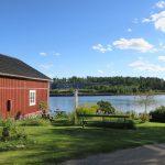 Schwedische Landschaft bei Strömsbruk