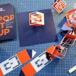 """Montage der Einladungskarte """"Pop It Up"""""""